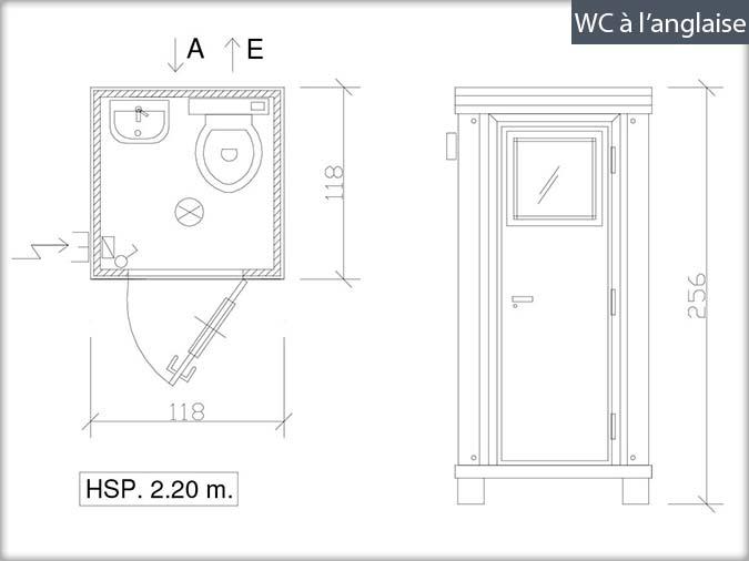 bung 39 eco fiche technique cabines sanitaires. Black Bedroom Furniture Sets. Home Design Ideas
