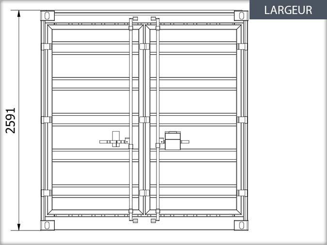 Exceptionnel Bung'Eco - Fiche technique - Containers de stockage VM03