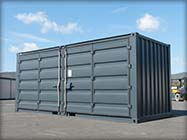 container ouverture totale