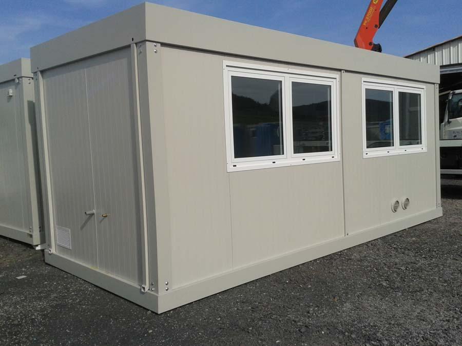 Bung 39 eco photos bungalows bureaux - Isolation phonique climatisation ...